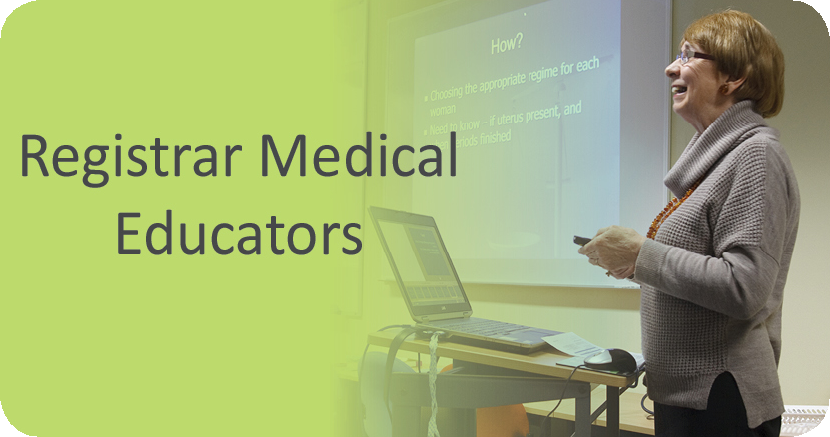 Registrar Medical Educators